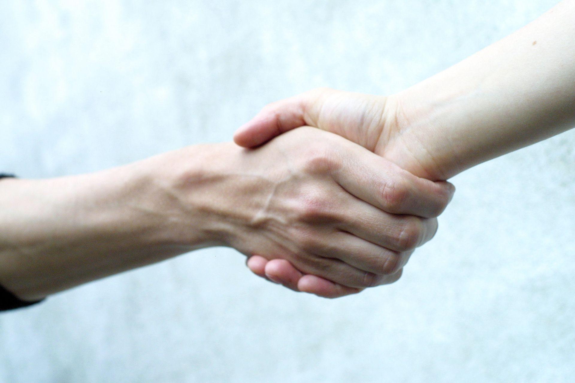 benefits for us handshake